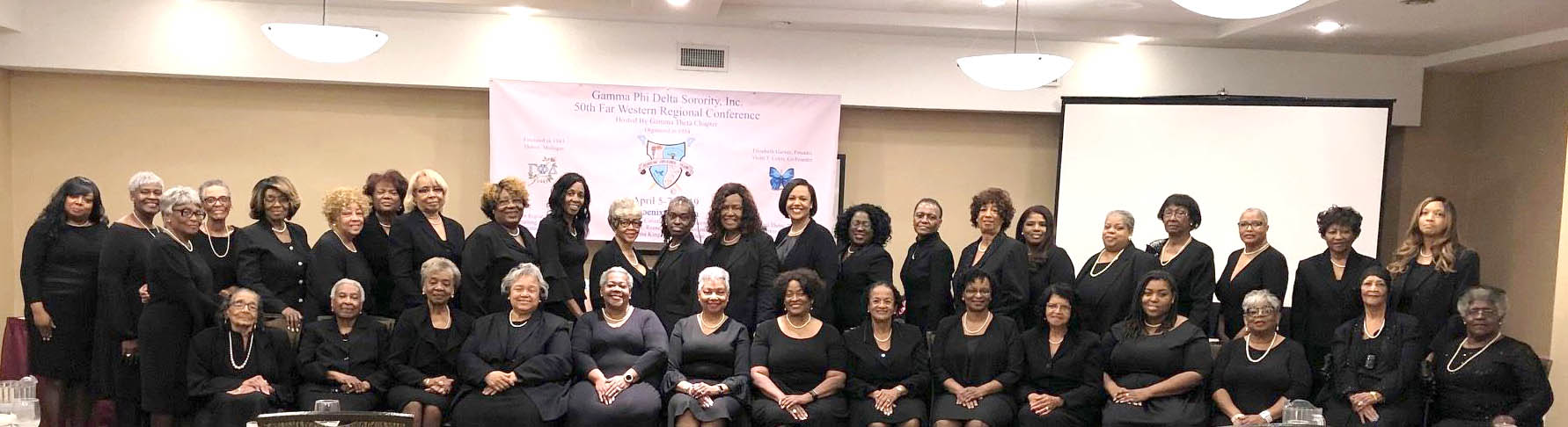 MobiriseFar Western Regional Conference March 24 –26, 2017 Los Angeles, California – Delta Chi Chapter, Host  Far Western Regional Director Verna McCalister and Special Guest Supreme Basileus Lenor Reese